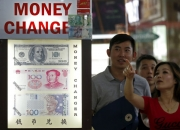 Singaporeans crowd money changers after pound nosedives