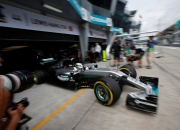Hamilton secures record time for pole position in Malaysian GP