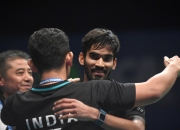 India's Srikanth upsets Chen Long to lift Australian Open title