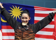 Malaysia wins six more gold midway through the day