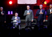 Five former US Presidents unite for hurricane relief concert
