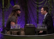 The Edit: Watch Jason Momoa battle Jimmy Fallon in a game of 'Water War'