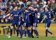 Tottenham cruise into FA Cup quarters with two goals from Eriksen