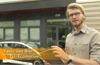 Reuters Video: Dutch students grow their own biodegradable car