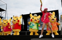Reuters Video: More than 100 Pikachus parade in Japan as fans cheer on