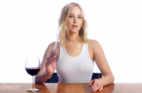 Jennifer Lawrence Plays 'Movie Review or Wine Review?'
