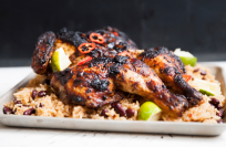 How to make succulent, spicy jerk chicken