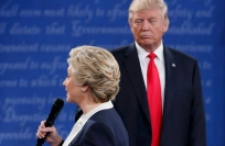 Reuters Video: Clinton says Trump made her 'skin crawl' during debate