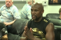 Reuters Video: Mayweather says fight with McGregor won't go distance