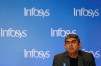 Reuters Video: Infosys CEO Sikka resigns, blames founders