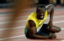Reuters Video: Usain Bolt collapses through injury during final race