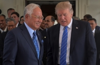 Reuters Video: Trump welcomes Najib to the White House