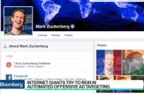 Bloomberg Video: Internet giants rein in automated offensive ad targeting
