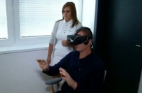 Reuters Video: Slovak clinic treats lazy eye with VR game