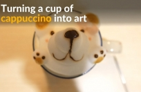 Reuters Video: Cappuccino is too cute to drink in this Taiwanese shop