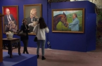 Reuters Video: Fifty shades of Putin — Vladimir's pop art makeover
