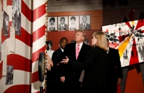 Reuters Video: Trump faces criticism at civil rights museum opening