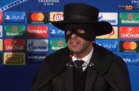 Reuters Video: Fonseca dons mask of Zorro after Shakhtar leave their mark