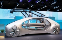 Reuters Video: EZ-GO — A look at Renault's 'robo-vehicle'