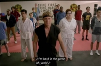 See this new trailer for 'Cobra Kai'