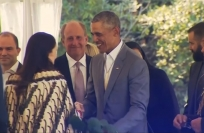 Reuters Video: Former US President Obama visits New Zealand, meets PM Ardern