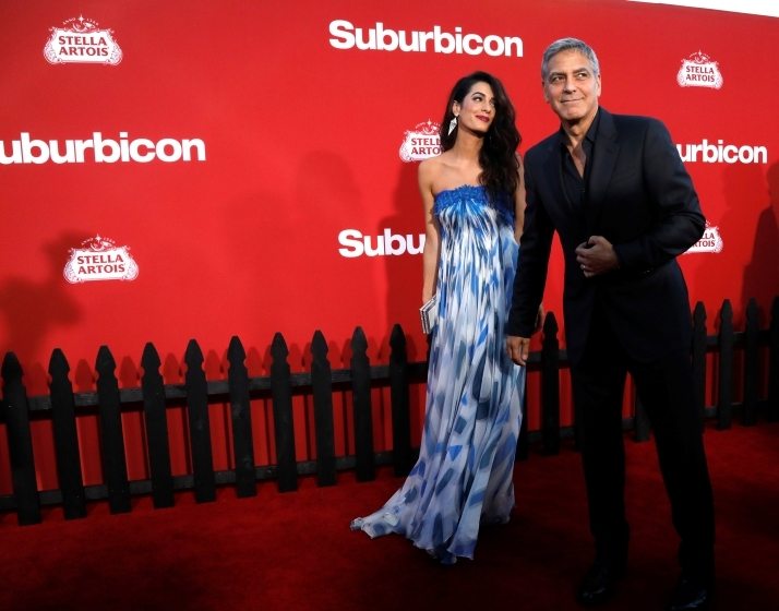 George Clooney slams Woody Allen's 'witch hunt' comment after Harvey Weinstein scandal