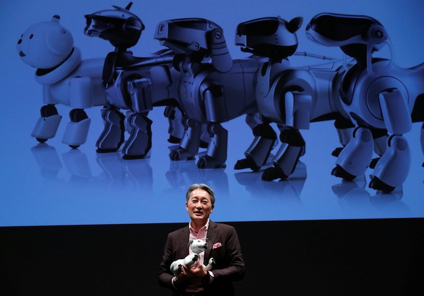 Sony brings back Aibo, teaches old dog new tricks