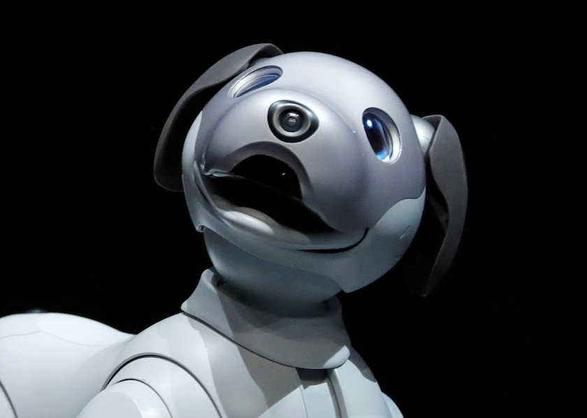 Sony Corp's entertainment robot 'aibo'