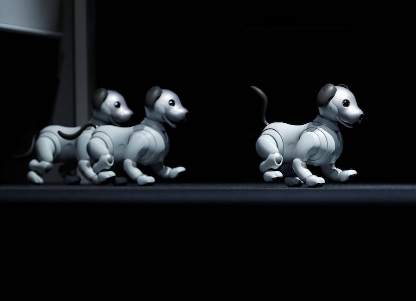 Sony's Aibo robotic dog is back, with new tricks for AI era