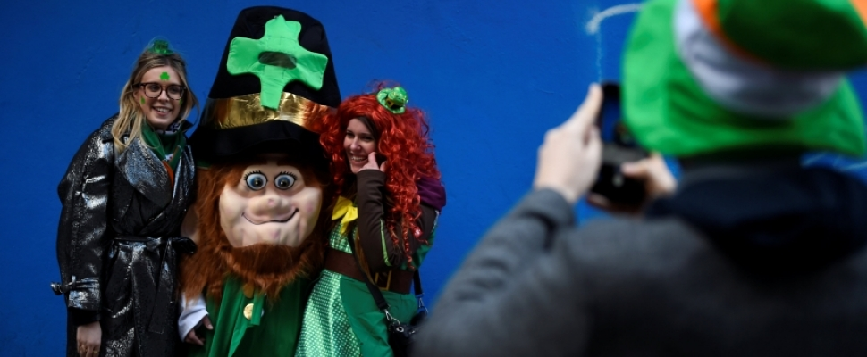 St Patrick's Day celebrations around the world