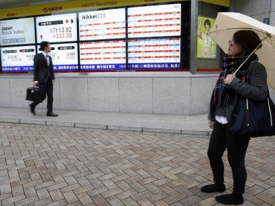 Tokyo shares give up gains, end down