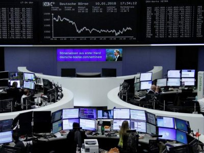European shares dip; FTSE 100 outperforms on UK Covid-19 vaccine approval