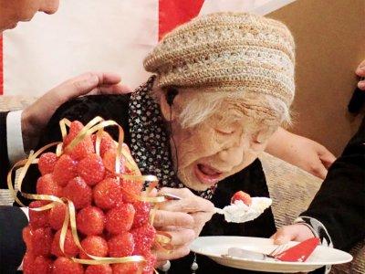 全球最长寿!日本女人瑞欢庆118岁生日