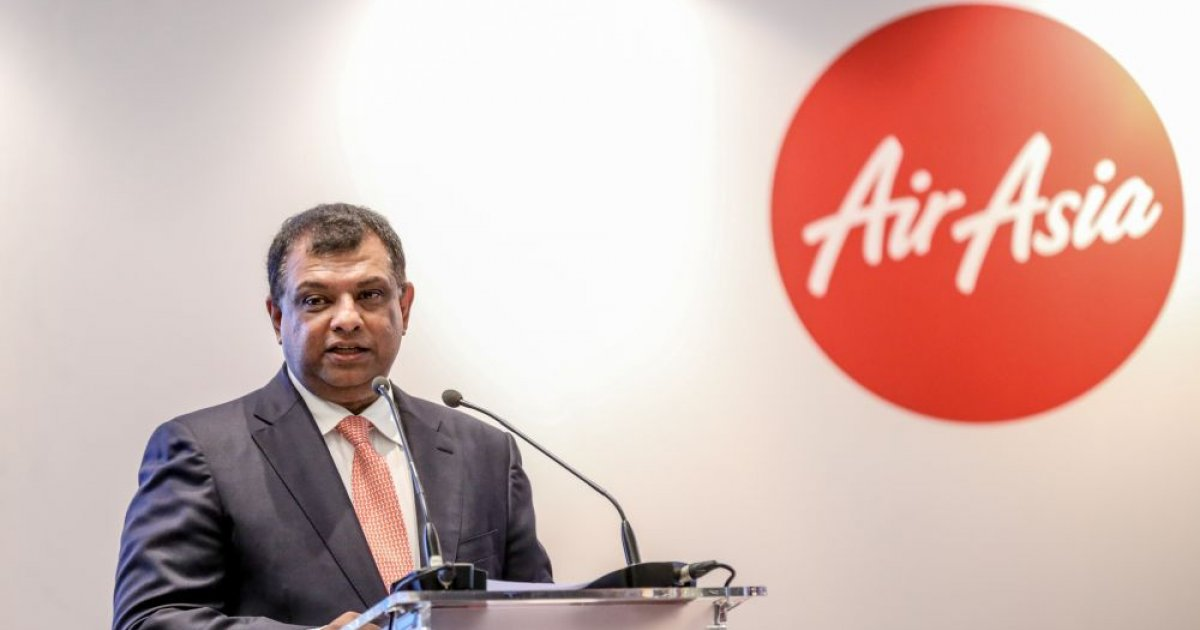 Tony Fernandes steps down from all posts except Airasia, Airasia X | Money  | Malay Mail