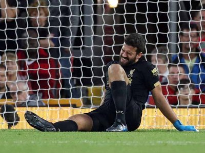 Alisson adds to Liverpool injury woes