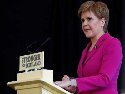 Scotland's Sturgeon wants independence referendum as soon as 2021, Times reports