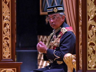Agong confirms postponed audience with Anwar, Dr Wan Azizah due to ill health