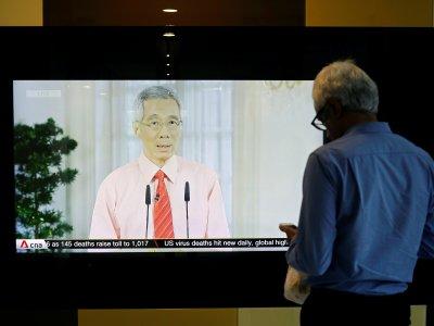 新加坡停工停学一个月!李显龙要民众在家办公上课