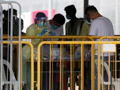 新加坡再有1426人染疫!确诊病例破8千宗