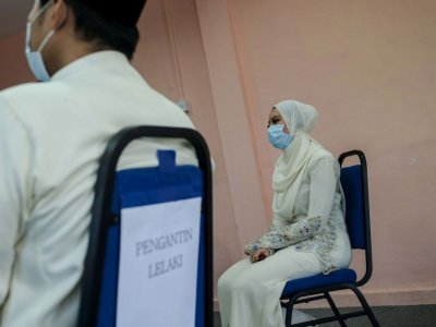 Covid-19: Perak allows marriage solemnisation to be held in halls