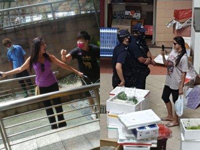拒戴口罩还袭击人 新加坡40岁妇女被控4罪
