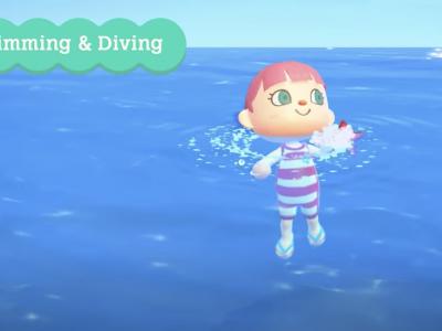 """《动物森友会》玩家 终于可以下海""""游泳""""了!"""