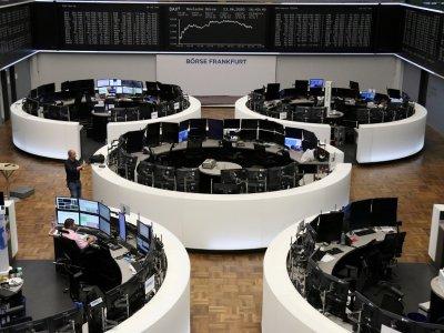 European stocks edge higher at open
