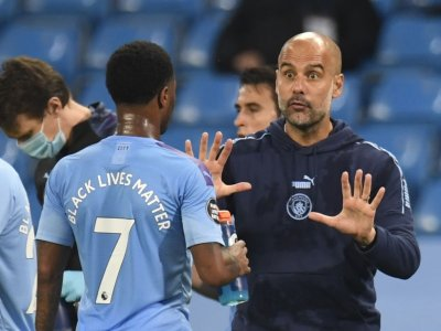 Guardiola says Man City squad is stretched to its limit