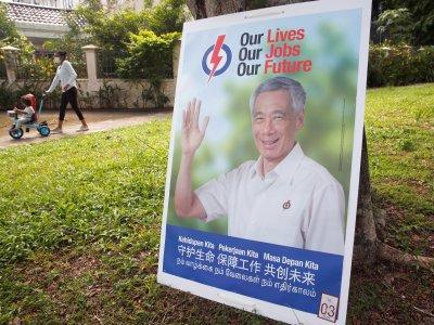 疫中大选网络较劲!新加坡选民最在意工作经济