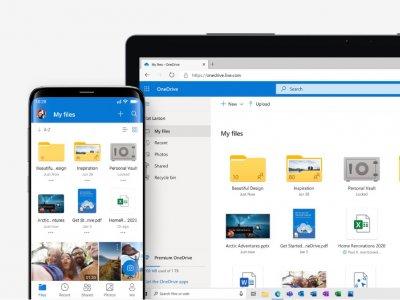 15GB变100GB!微软OneDrive提升容量还推出黑暗模式