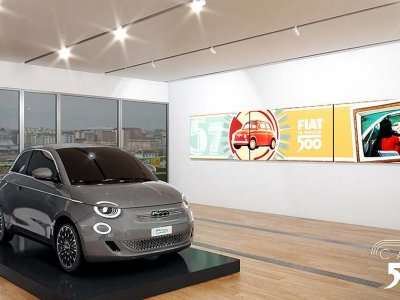 Fiat 500 features in new virtual museum