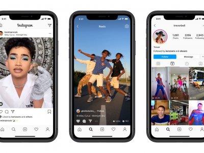 与TikTok功能类似! Instagram推出Reels录制短视频