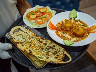 Indian restaurant offers 'Covid curry' to scared customers