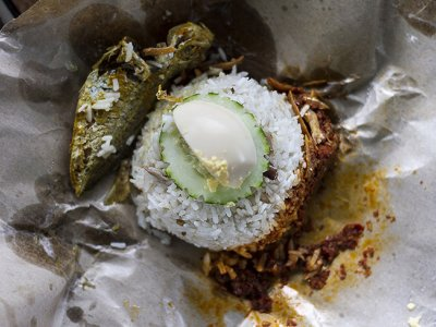 Why Malaysians love 'nasi lemak'... and each other
